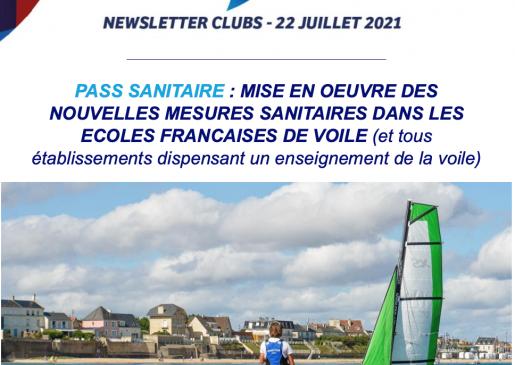 """Communication concernant le """"Pass Sanitaire"""""""